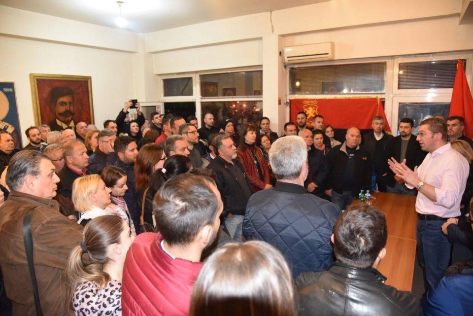 Мицкоски од скопски Аеродром: Претседателските избори се првиот чекор на пад на оваа власт