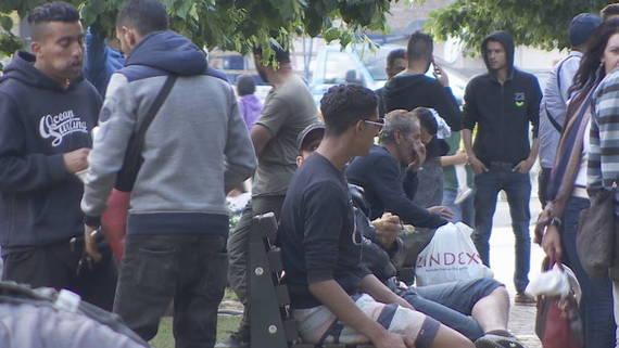 Курир дознава: Комбе полно со мигранти фатено кај Гевгелија