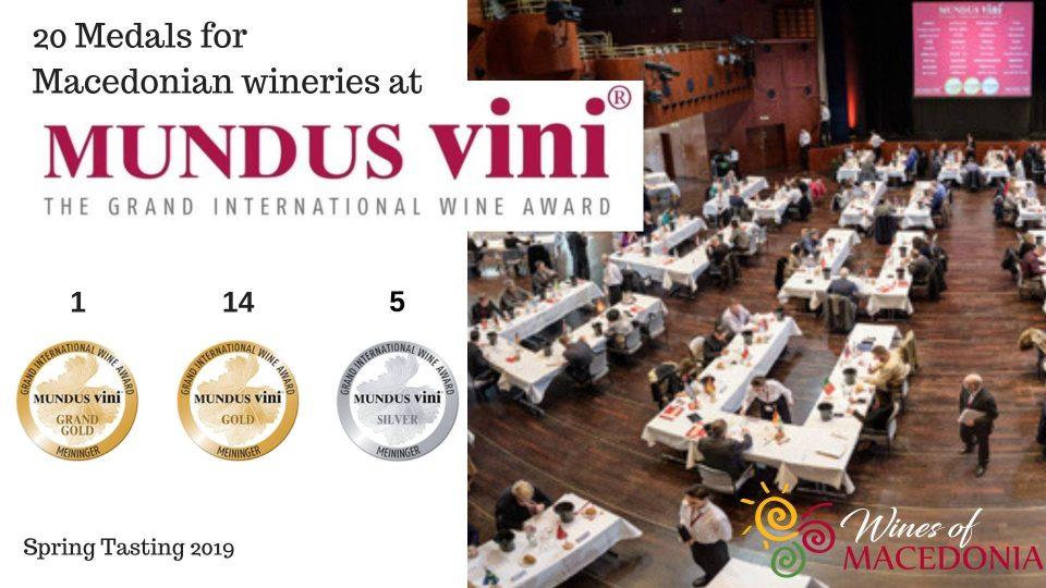 """Забележителен успех на македонските винарии на """"Мундус Вини"""" во Германија"""