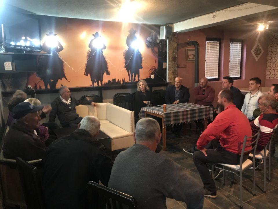 Претставници на ВМРО-ДПМНЕ во посета на Општина Дебарца