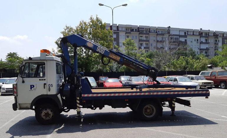 """30 сообраќајки викендот во Скопје, """"пајакот"""" кренал 134 возила"""