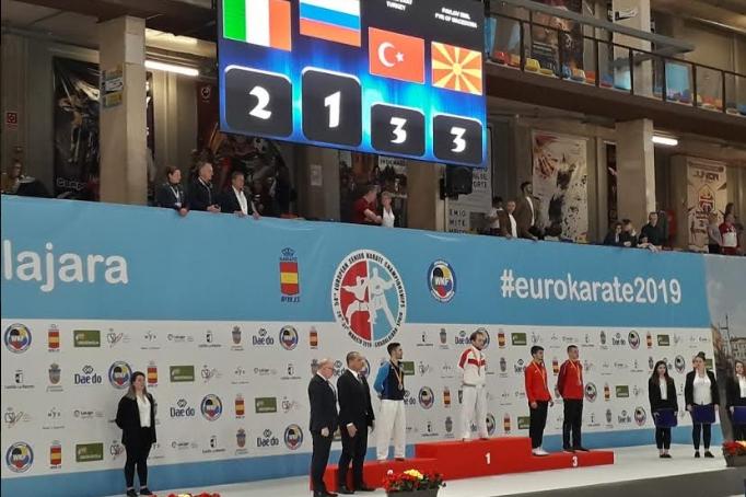 Се развеа македонското знаме во Шпанија: Четврти европски медал за Емил Павлов, Јованоска на 5-то место