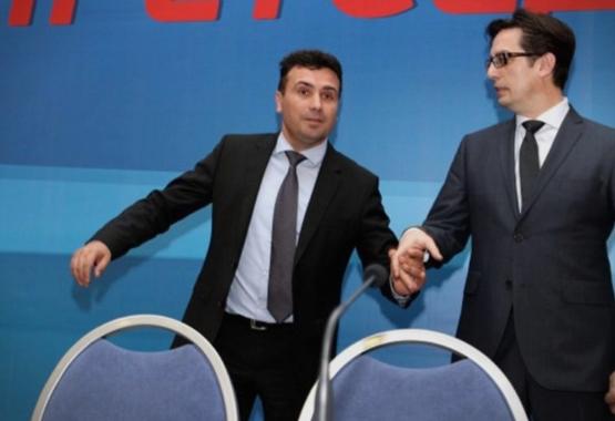 ВМРО-ДПМНЕ: Зоран Заев и Стево Пендаровски се 102.5% исти- Заев призна дека лажел кога ветувал почеток на преговори со ЕУ во јуни, ист е и Пендаровски
