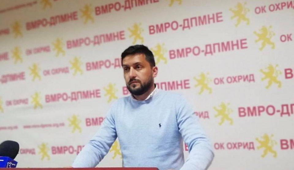 Божиновски: Охрид сегуши од урбанистичкиот хаос што го создаваат СДСМ и в.д. градоначалникот Георгиески