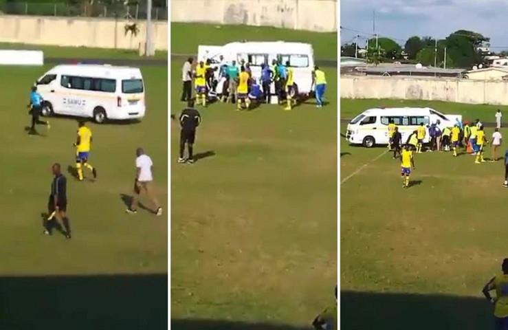 Млад фудбалер почина по воздушен дуел: Брзата помош немала со што да му го спаси животот (ВИДЕО)