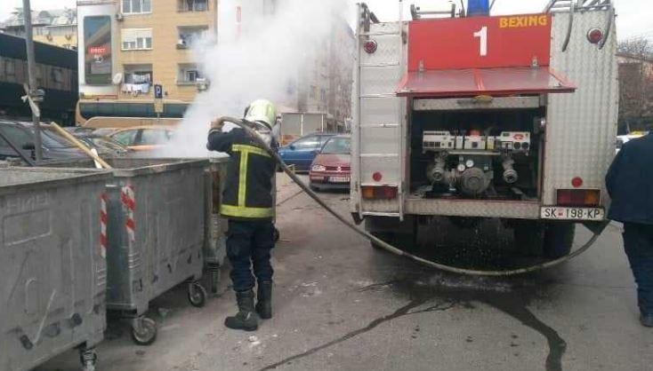"""ЈП """"Комунална хигиена"""": Последните два месеца запалени и уништени 40 контејнери"""
