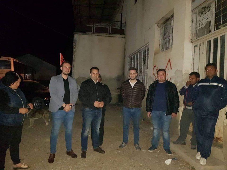 Членови на ИК на ВМРО-ДПМНЕ во посета на Карбинци и Росоман