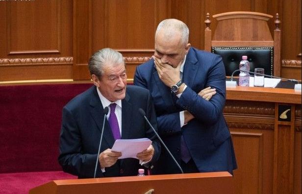 Еди Рама го тужи за клевета поранешниот премиер Бериша