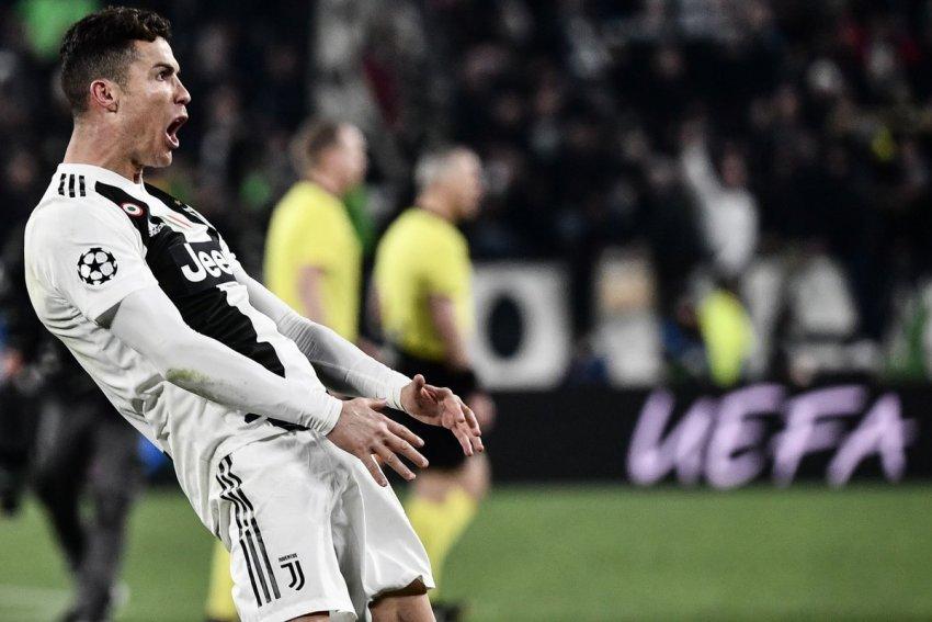 ФОТО: Роналдо може да биде казнет за непристојниот гест покажувајќи си го меѓуножјето во мечот со Атлетико