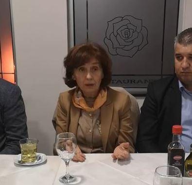 Силјановска: Преименувањето на институциите е демакедонизација, правдата за Македонија мора да победи!
