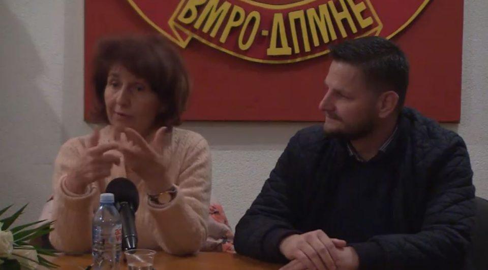 Силјановска од Македонска Каменица: Не само што нивниот град ќе остане македонски, туку и Македонија е силна како камен