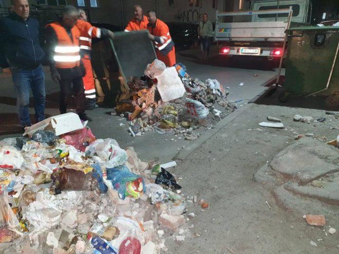 Скопјани незадоволни- градот никогаш не бил повалкан