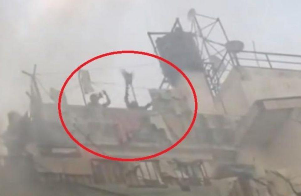 Страотен пожар во трговски центар: Луѓето скокаат од 9-ти кат, хеликоптер ги спасува луѓето од покривот (ВИДЕО)