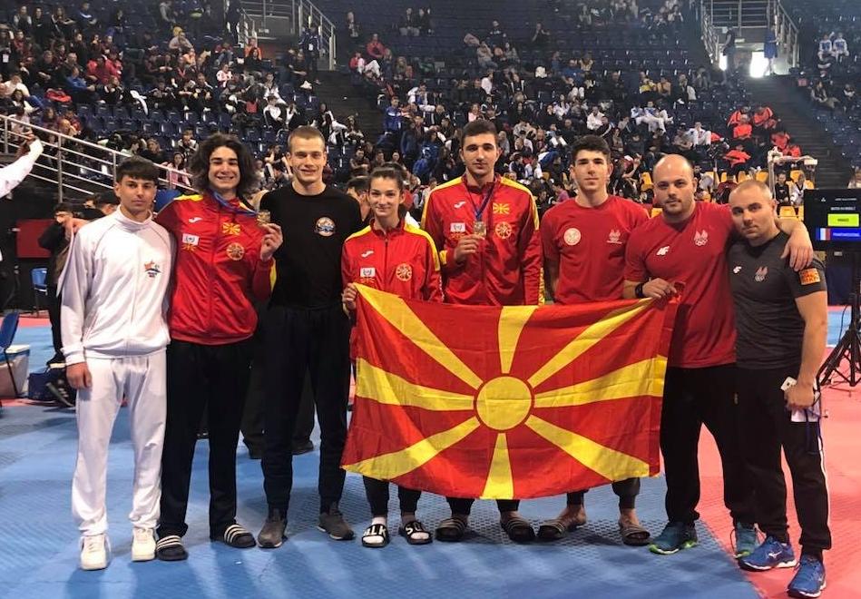 ГОРДОСТ: Македонија доби европски шампион во таеквондо, уште низа успеси за младите спортисти