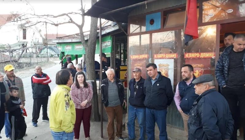 ВМРО-ДПМНЕ со теренски посети во Виница и Чашка