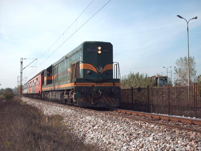 Каменуван воз во скопско Ново Село
