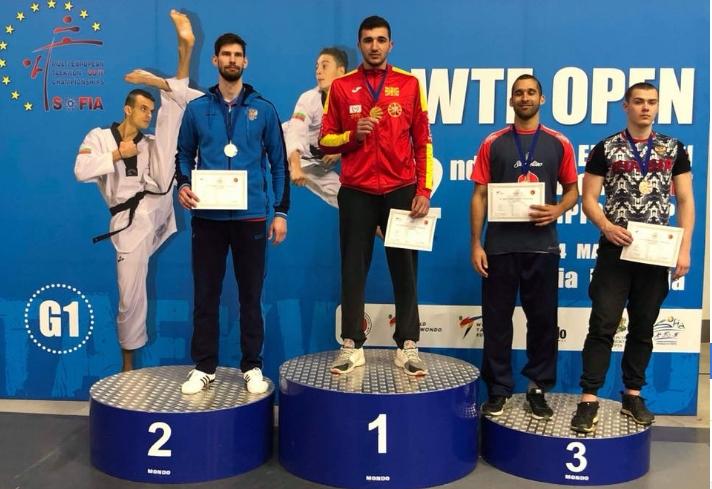 За Македонија со цело срце: Дејан Георгиевски освои златен медал, чекор поблиску до Токио 2020