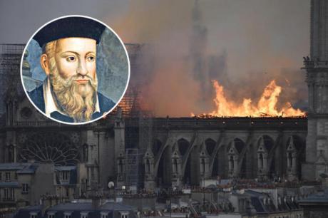 Нострадамус го предвиде пожарот во Нотр Дам: Ја предвидел катастрофата точно до ден (ВИДЕО)