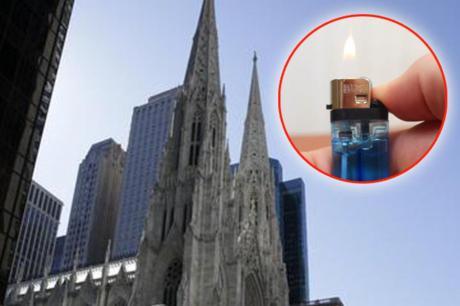 Спречен пожар во уште една катедрала- маж уапсен откако влегол во црква со запалка и бензин