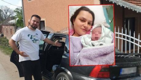 """Маријан ја породил сопругата во автомобил: """"Ја видов главата на бебето, како да ми кажа тато види ме"""""""