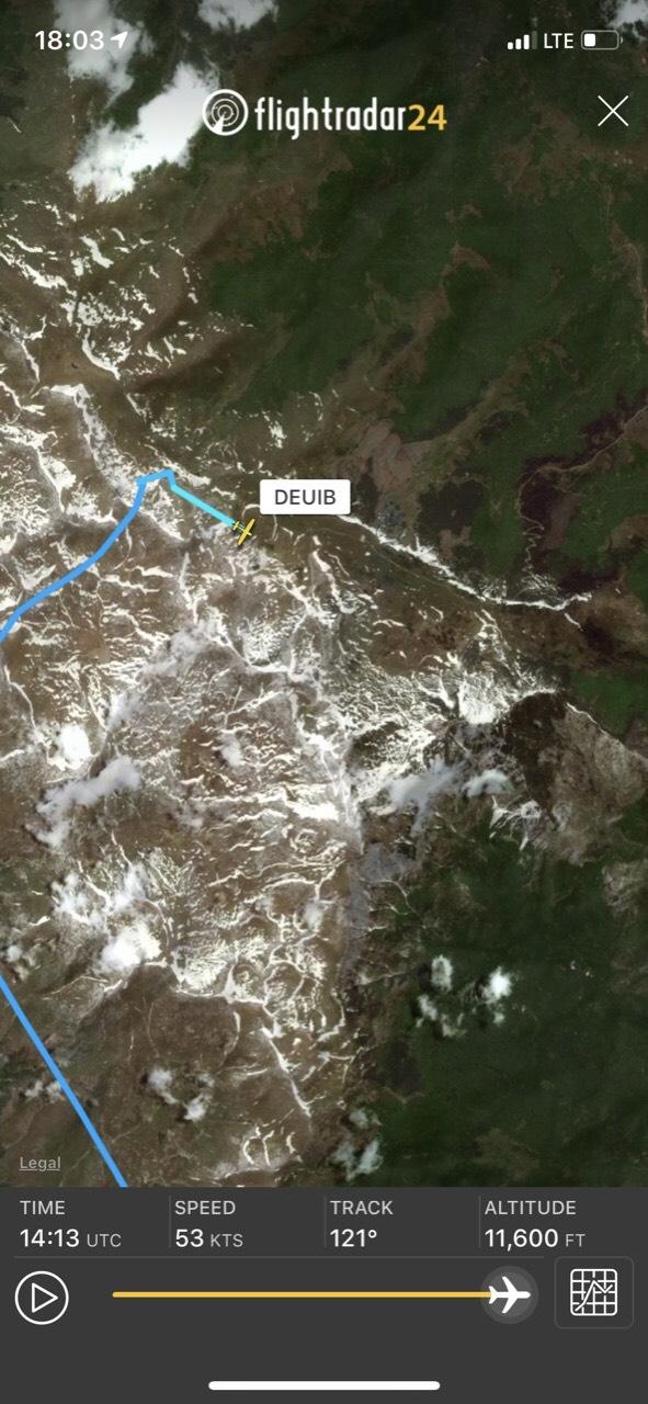 Авионот Цесна П210Н пронајден паднат северно од Солунска глава