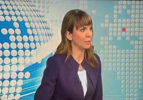 ВИДЕО: Голем гаф на водителката на вести- толку се збунила што не знаела каде да гледа