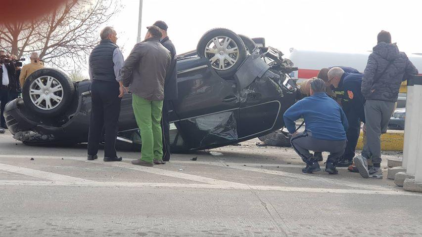 ФОТО: Стравична несреќа со фатални последици- преголемата брзина виновник за сообраќајката на патарината кај Тетово
