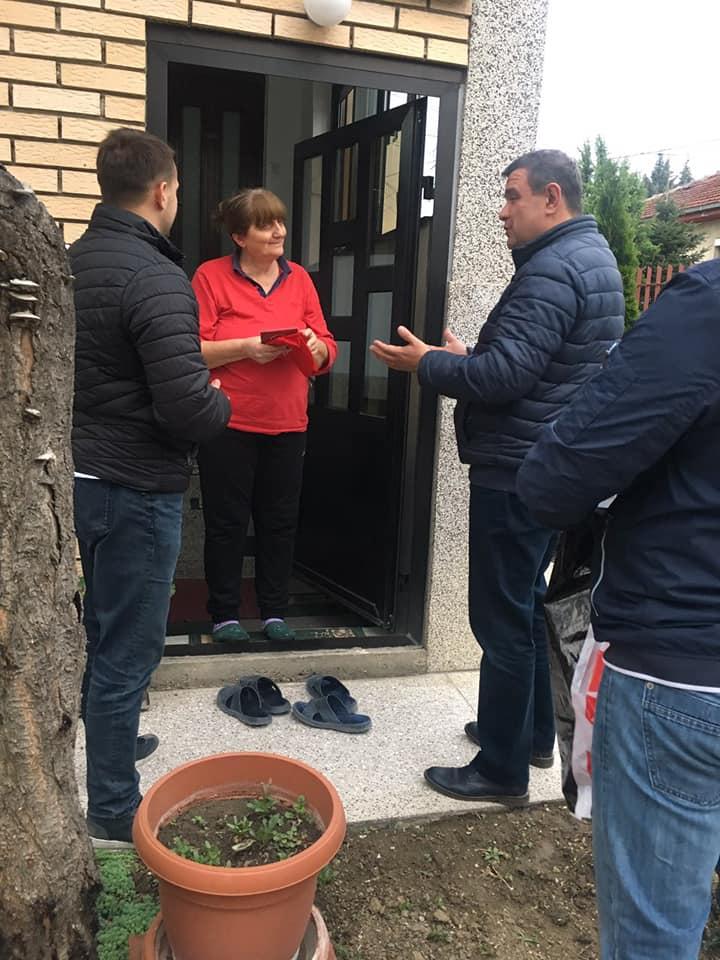Мицевски заедно со граѓаните на Ѓорче Петров