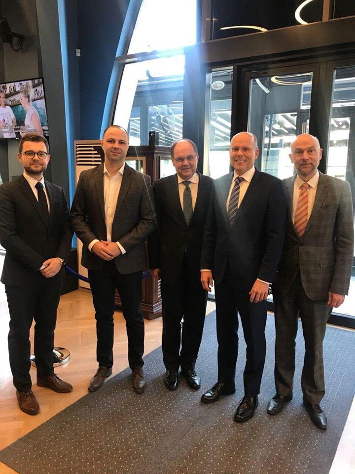 Мисајловски и Муцунски на средба со пратеници од Германскиот Бундестаг