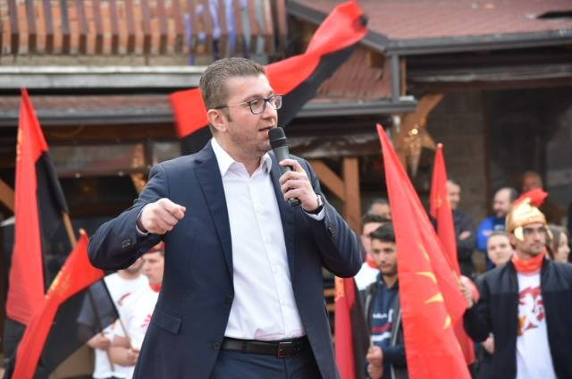 Мицкоски: Правдата во Македонија има непријател и тој се вика Зоран Заев