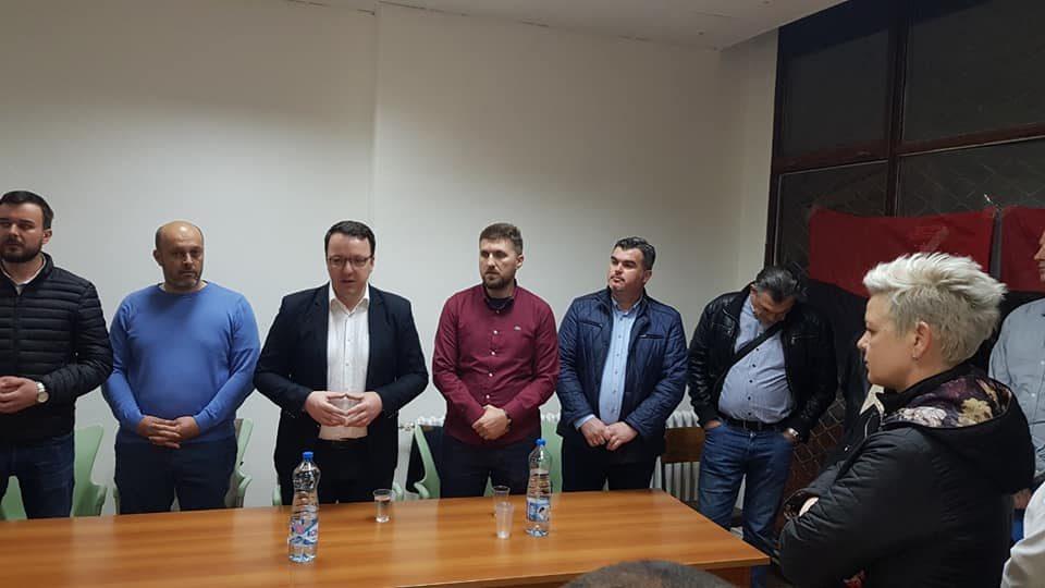 Николовски на средба со граѓаните на општина Аеродром