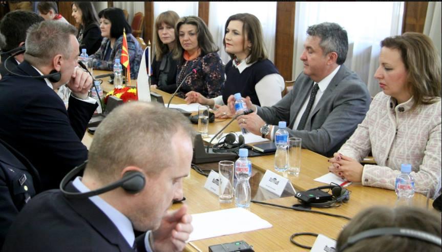 Пешевска: На средбата со Чешка делегација ја истакнав јасната определба на ВМРО-ДПМНЕ за членство на Македонија во НАТО и ЕУ