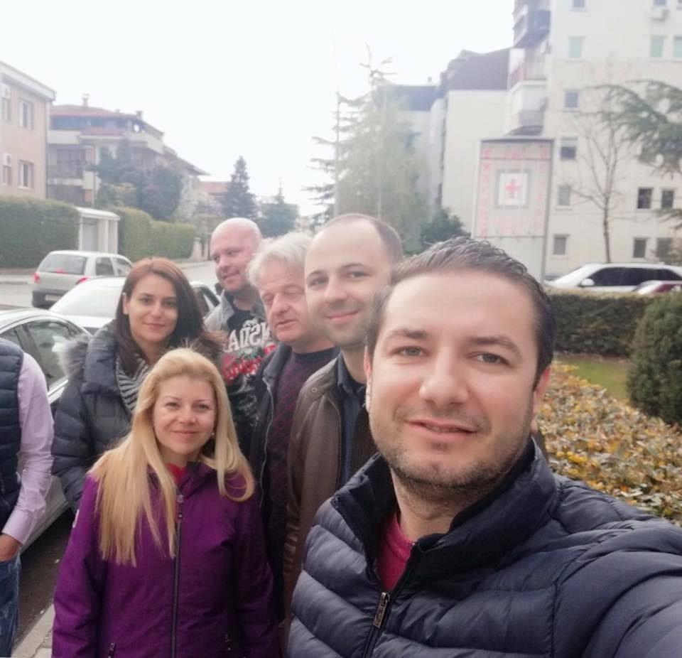 """""""За убав Охрид, сите заедно на терен за подршка на кандидатот за градоначалник Митре Милошевски"""""""