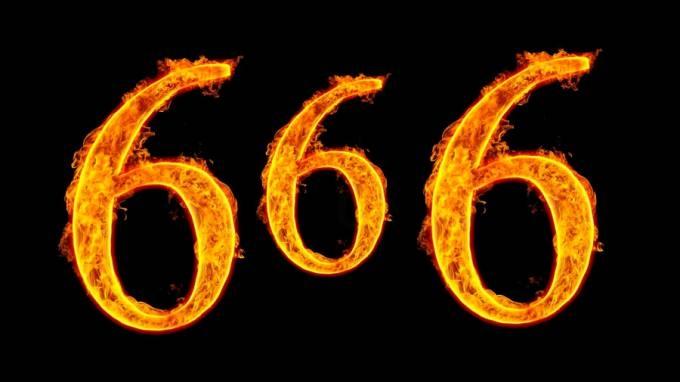 Одгатнат бројот 666