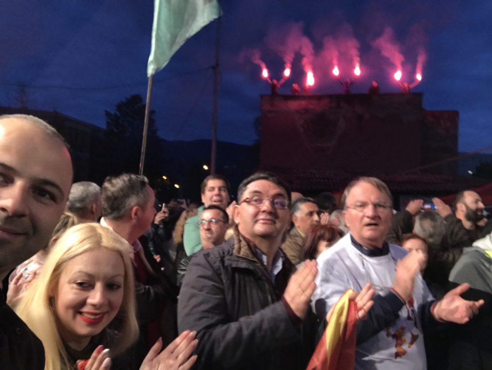 Ѓорче Петров на нозе- Еуфоричен митинг на ВМРО-ДПМНЕ (ВИДЕО)