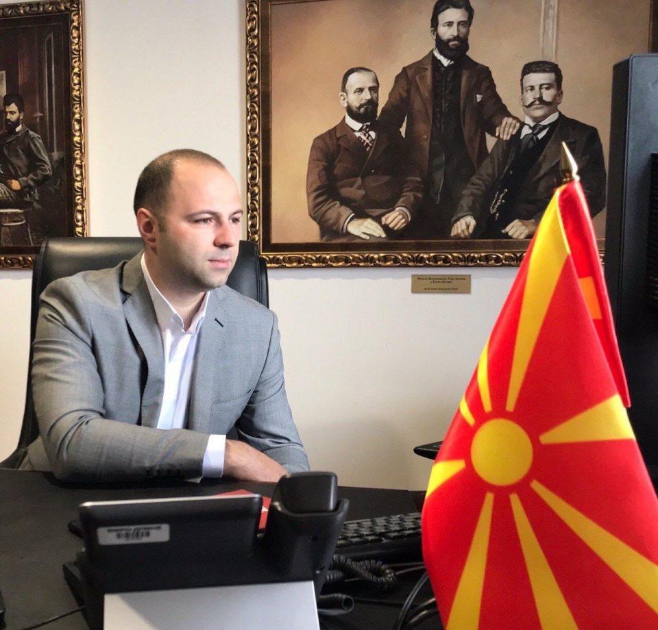 Мисајловски повика на масовност на денешниот митинг во Ѓорче , скопскиот и останатите митинзи
