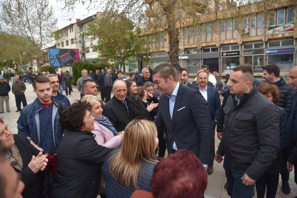 Мицкоски од Неготино го најави падот на СДСМ