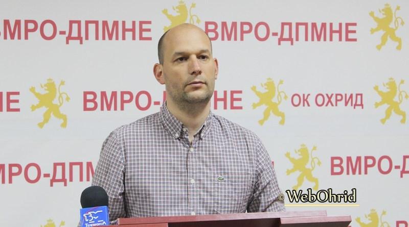 Донев: Математиките на СДСМ не им одат во прилог, па се служат со злоупотреби од позиција на власт