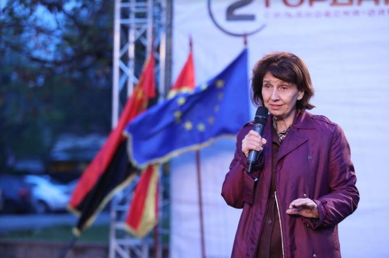 Силјановска од Бутел: На власта и пречи химната затоа што ја потсетува на неправдите кои ги прави