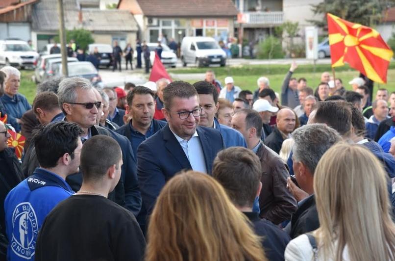 Мицкоски од Илинден: Тоа што го прават СДСМ и Заев нема да ја однесе Македонија во Европа