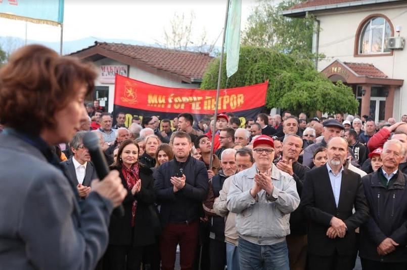 Силјановска: Власта ги злоупотреби ЕУ и НАТО во најбесрамното прашање за промена на името на државата