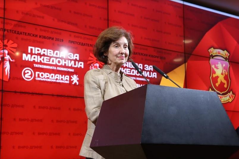 Силјановска: И во вториот круг ќе продолжам така како што дебатирам со аргументи, така ќе разговарам и со граѓаните