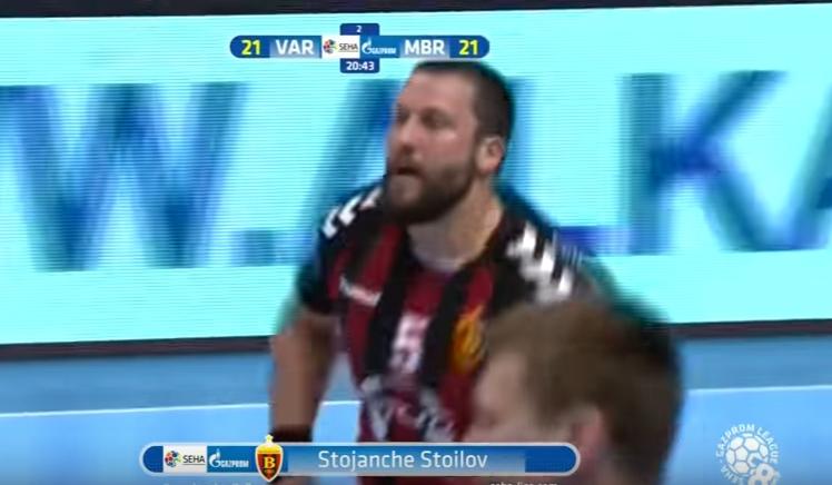 Стоилов го има најубавиот гол во полуфиналето на СЕХА Лигата (ВИДЕО)