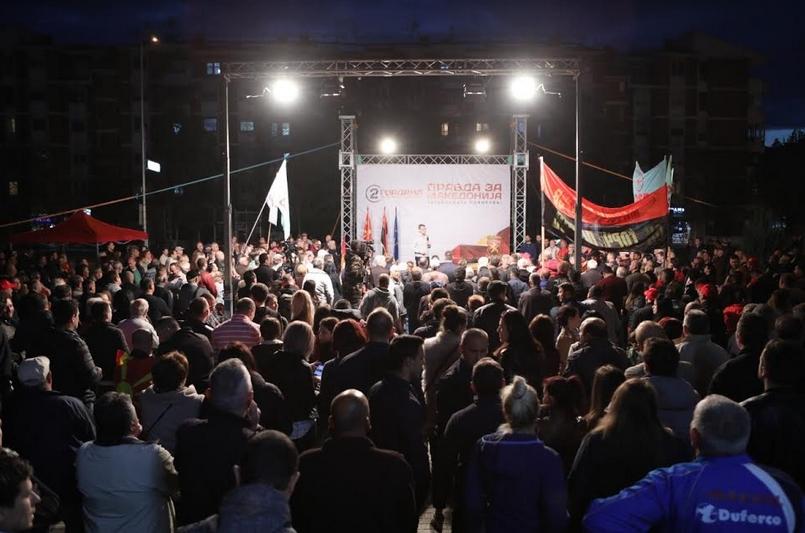 Мицкоски: Во мафијашки стил го избраа Стево за кандидат, е нема да биде тој- народот кажа, Гордана ќе биде