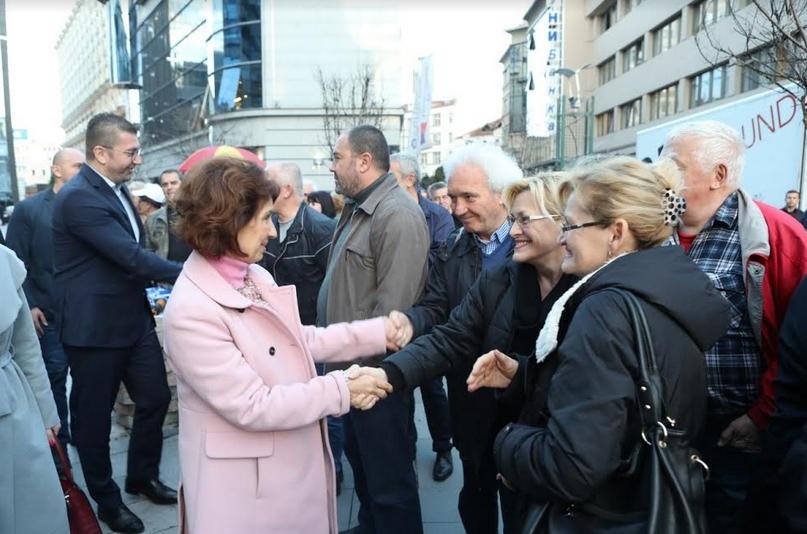 Силјановска од Центар: Правдата во Македонија ќе победи и ќе го турне ова црнило кое владее сега