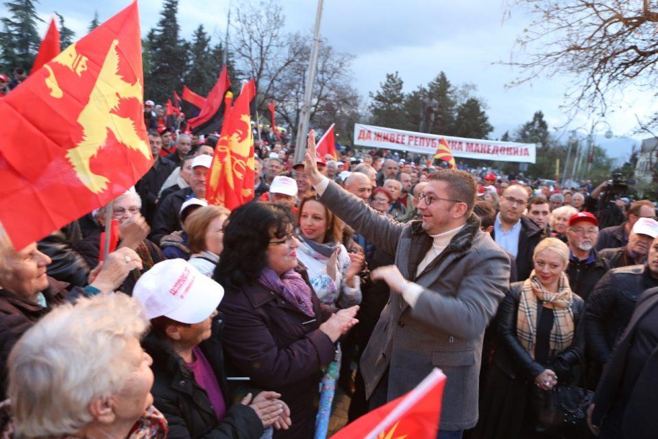 Мицкоски до Заев: Овие луѓе овде и секаде низ Македонија се како пиреј и ти ги потцени, но тоа што ги потцени ќе го видиш на 21 Април, а потоа и на 5 мај
