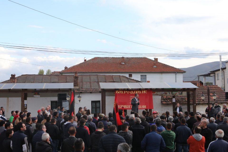 Мицкоски: Најголемата коалиција не е онаа која што беше направена во еден скап и луксузен скопски хотел, туку вистинската е коалицијата со народот