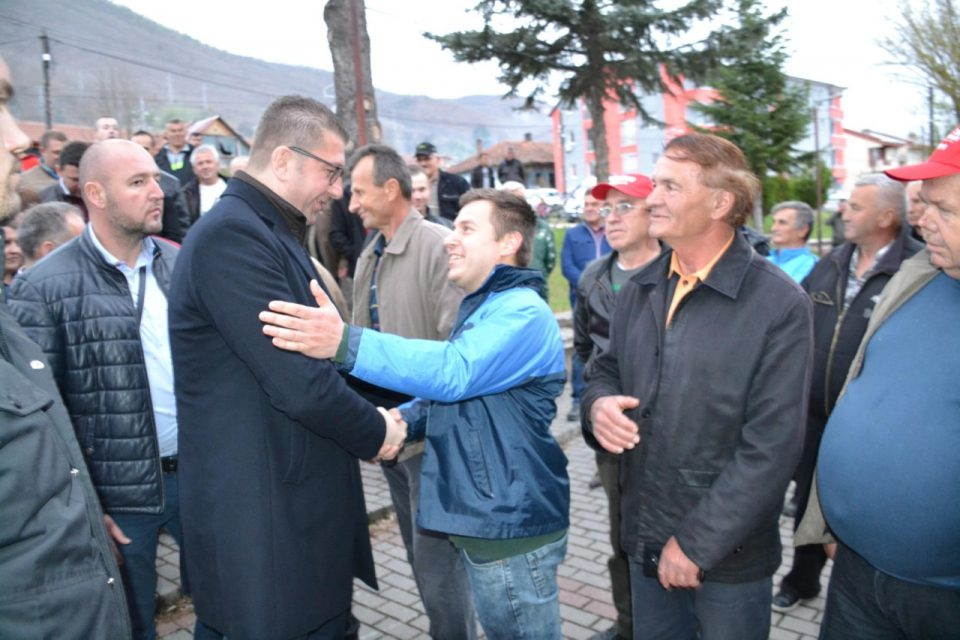 Мицкоски: СДСМ мисли на народот и на татковината само од избори до избори, додека ВМРО-ДПМНЕ мисли и заспива со последната мисла за Македонија