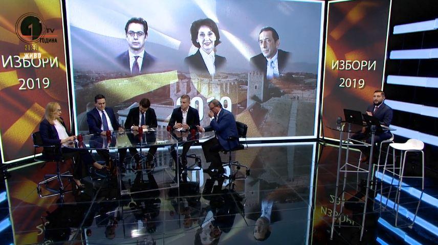 Манчевски и Муцунски во Студио 1 прогласија победа на политиките на своите партии