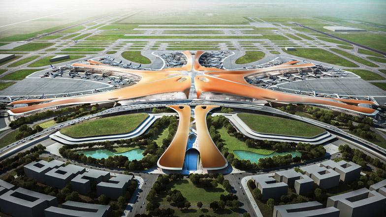 Се отвора најголемиот аеродром во светот